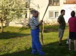 Pálení čarodějnic a stavění máje 2012