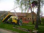 Pálení čarodějnic a stavění máje 2013